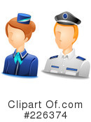 Royalty-Free (RF) Avatar Clipart Illustration #226374