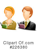 Royalty-Free (RF) Avatar Clipart Illustration #226380