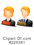 Royalty-Free (RF) Avatar Clipart Illustration #226381