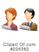 Royalty-Free (RF) Avatar Clipart Illustration #226382