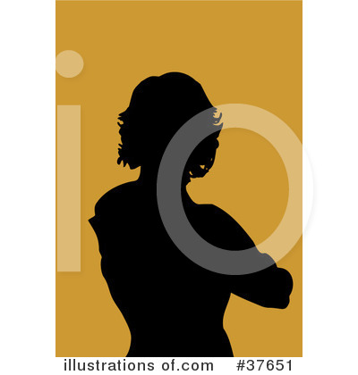 Silhouetted Woman Clipart #37651 by KJ Pargeter