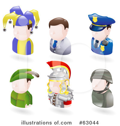 Royalty-Free (RF) Avatar Clipart Illustration by AtStockIllustration - Stock Sample #63044