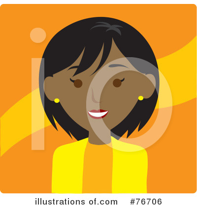 Black Woman Clipart #76706 by Rosie Piter