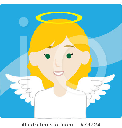 Angel Clipart #76724 by Rosie Piter