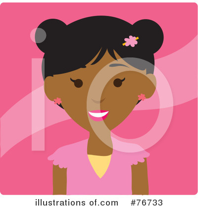 Black Woman Clipart #76733 by Rosie Piter