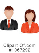 Royalty-Free (RF) Avatars Clipart Illustration #1067292