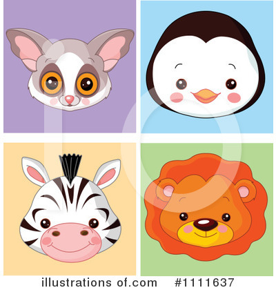 Primate Clipart #1111637 by Pushkin