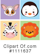 Royalty-Free (RF) Avatars Clipart Illustration #1111637