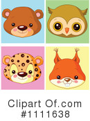 Royalty-Free (RF) Avatars Clipart Illustration #1111638