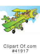 Royalty-Free (RF) Aviation Clipart Illustration #41917