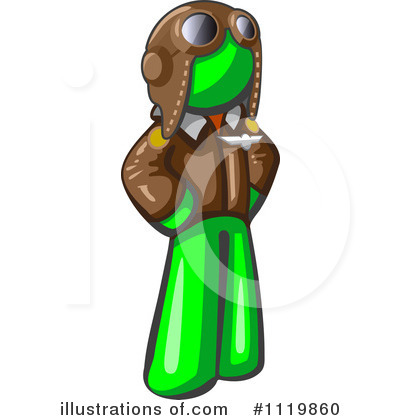 Green Design Mascot Clipart #1119860 by Leo Blanchette