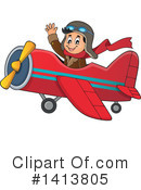 Aviator Clipart #1413805 by visekart