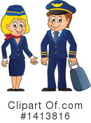 Aviator Clipart #1413816 by visekart