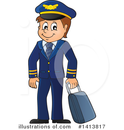 Pilot Clipart #1413817 by visekart