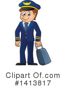 Aviator Clipart #1413817 by visekart