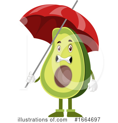 Avocado Clipart #1664697 by Morphart Creations