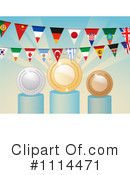 Royalty-Free (RF) Awards Clipart Illustration #1114471