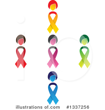 Breast Cancer Clipart #1337256 by ColorMagic