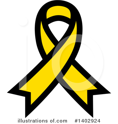 Royalty-Free (RF) Awareness Ribbon Clipart Illustration by ColorMagic - Stock Sample #1402924