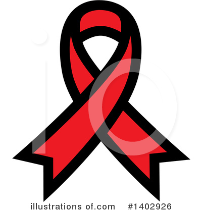 Royalty-Free (RF) Awareness Ribbon Clipart Illustration by ColorMagic - Stock Sample #1402926