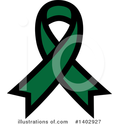 Royalty-Free (RF) Awareness Ribbon Clipart Illustration by ColorMagic - Stock Sample #1402927