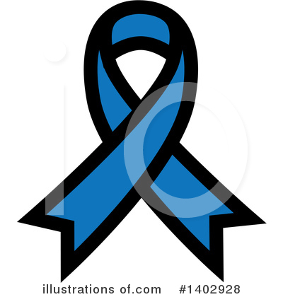 Royalty-Free (RF) Awareness Ribbon Clipart Illustration by ColorMagic - Stock Sample #1402928