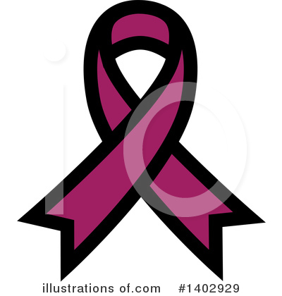Royalty-Free (RF) Awareness Ribbon Clipart Illustration by ColorMagic - Stock Sample #1402929
