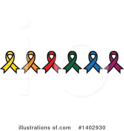 Awareness Ribbon Clipart #1402930 by ColorMagic