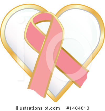 Breast Cancer Clipart #1404013 by inkgraphics