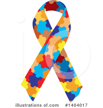 Royalty-Free (RF) Awareness Ribbon Clipart Illustration by inkgraphics - Stock Sample #1404017