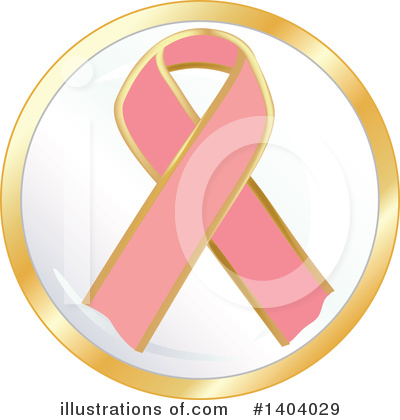 Breast Cancer Clipart #1404029 by inkgraphics