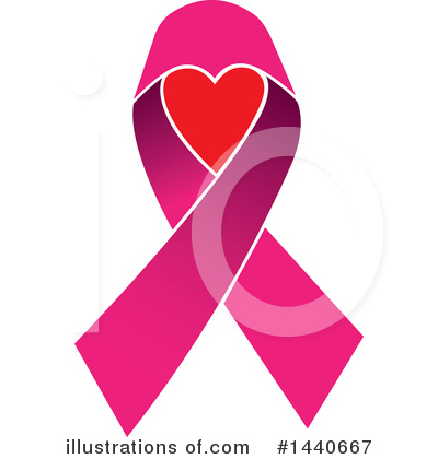 Breast Cancer Clipart #1440667 by ColorMagic