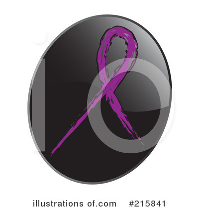 Royalty-Free (RF) Awareness Ribbon Clipart Illustration by inkgraphics - Stock Sample #215841