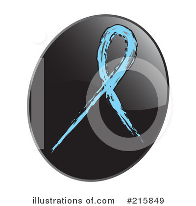 Royalty-Free (RF) Awareness Ribbon Clipart Illustration by inkgraphics - Stock Sample #215849