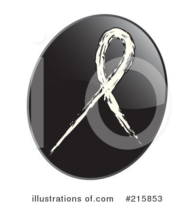 Royalty-Free (RF) Awareness Ribbon Clipart Illustration by inkgraphics - Stock Sample #215853
