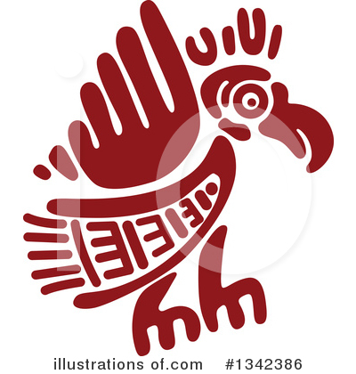 Aztec Clipart #1342386 by Vector Tradition SM