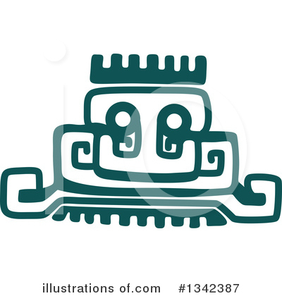 Aztec Clipart #1342387 by Vector Tradition SM