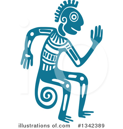 Aztec Clipart #1342389 by Vector Tradition SM