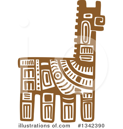 Llama Clipart #1342390 by Vector Tradition SM