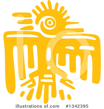 Aztec Clipart #1342395 by Vector Tradition SM
