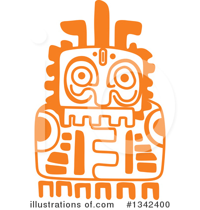 Mayan Clipart #1342400 by Vector Tradition SM