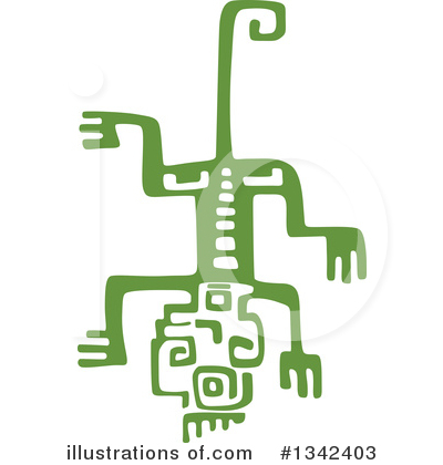 Lizard Clipart #1342403 by Vector Tradition SM
