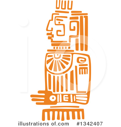 Mayan Clipart #1342407 by Vector Tradition SM