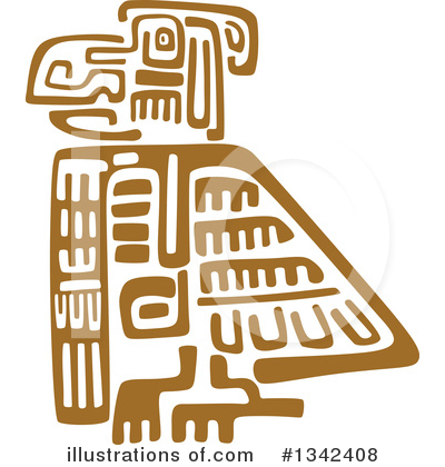 Aztec Clipart #1342408 by Vector Tradition SM