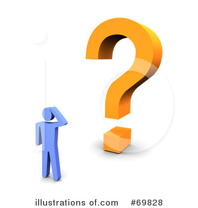 Question Mark Clipart #69828 by Jiri Moucka