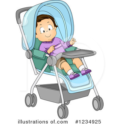 Baby Boy Clipart #1234925 by BNP Design Studio