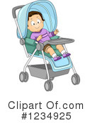 Royalty-Free (RF) Baby Boy Clipart Illustration #1234925