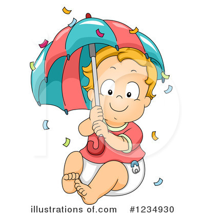 Baby Boy Clipart #1234930 by BNP Design Studio