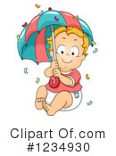 Royalty-Free (RF) Baby Boy Clipart Illustration #1234930