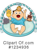 Royalty-Free (RF) Baby Boy Clipart Illustration #1234936
